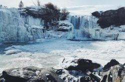 13 Frozen Waterfalls to Visit in and Around Calgary During Winter