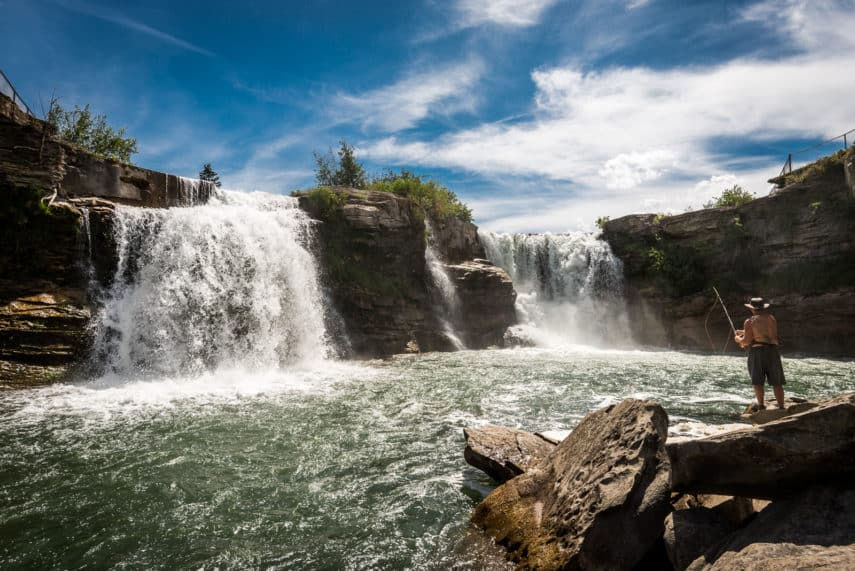 15 Alberta Waterfalls worth a weekend getaway