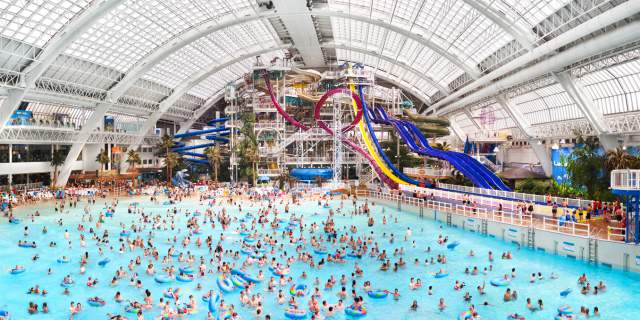 World Waterpark, West Edmonto n Mall