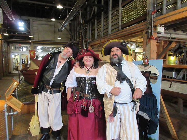 Pirate Weekend at the Cannery