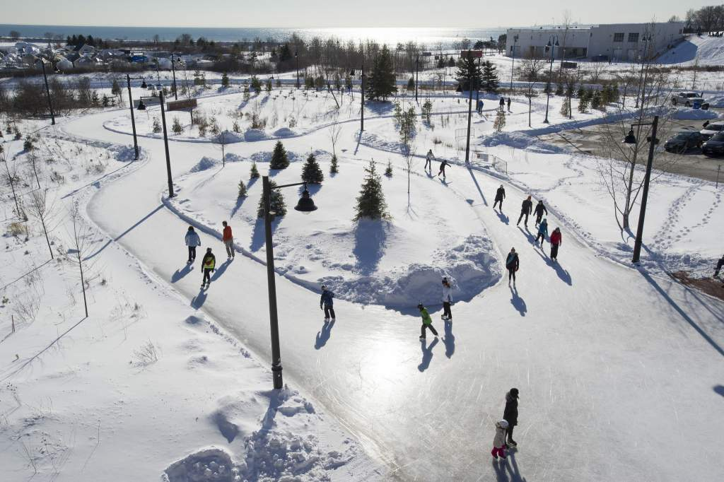 Outdoor Skating Rinks in Greater Toronto Area