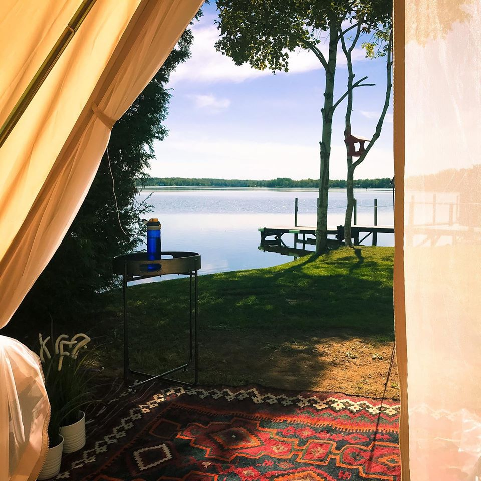 15 Places to Go Comfort Camping & Glamping in Nova Scotia