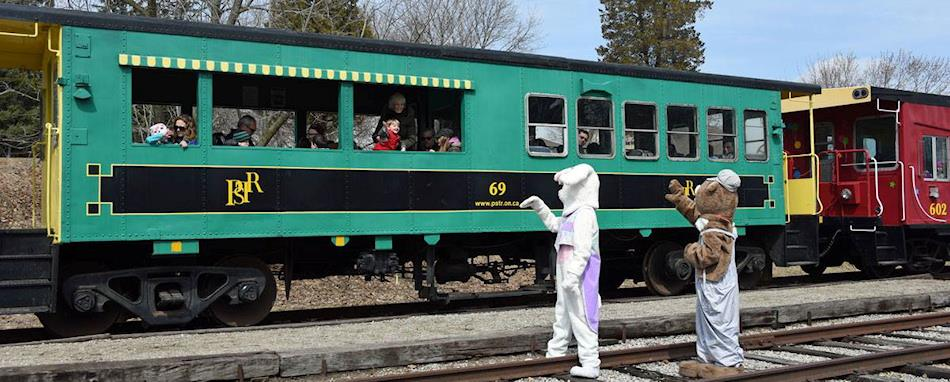 Easter Bunny Train Rides in Ontario