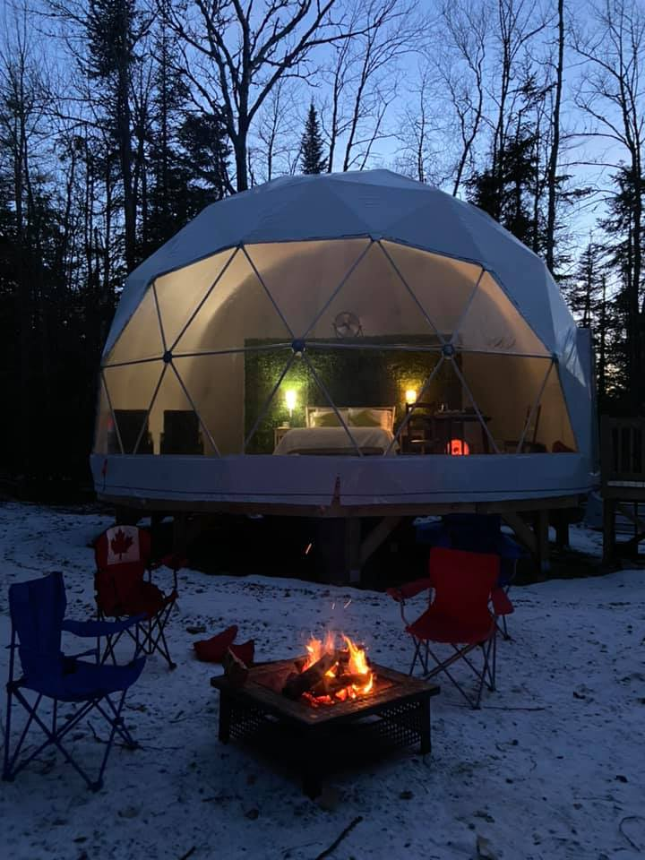 Places to Go Comfort Camping & Glamping in New Brunswick