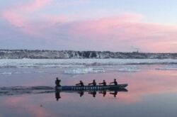 Ice Canoeing - A Canadian Winter Experience