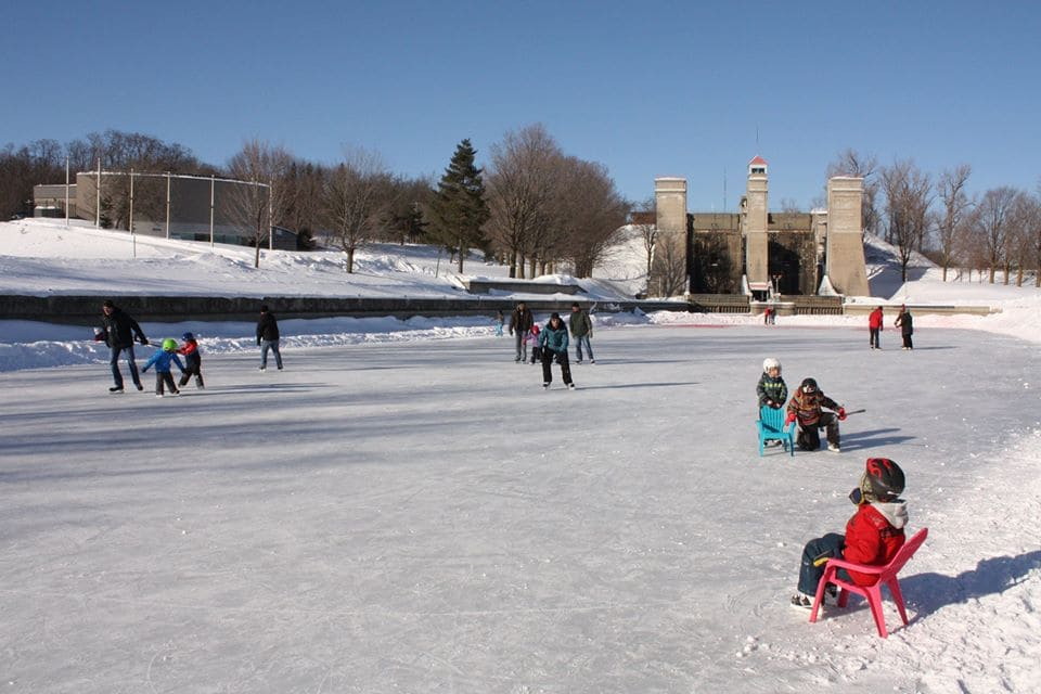 Peterborough Historic Lift Lock Skating Trail is Open for 2019 Season