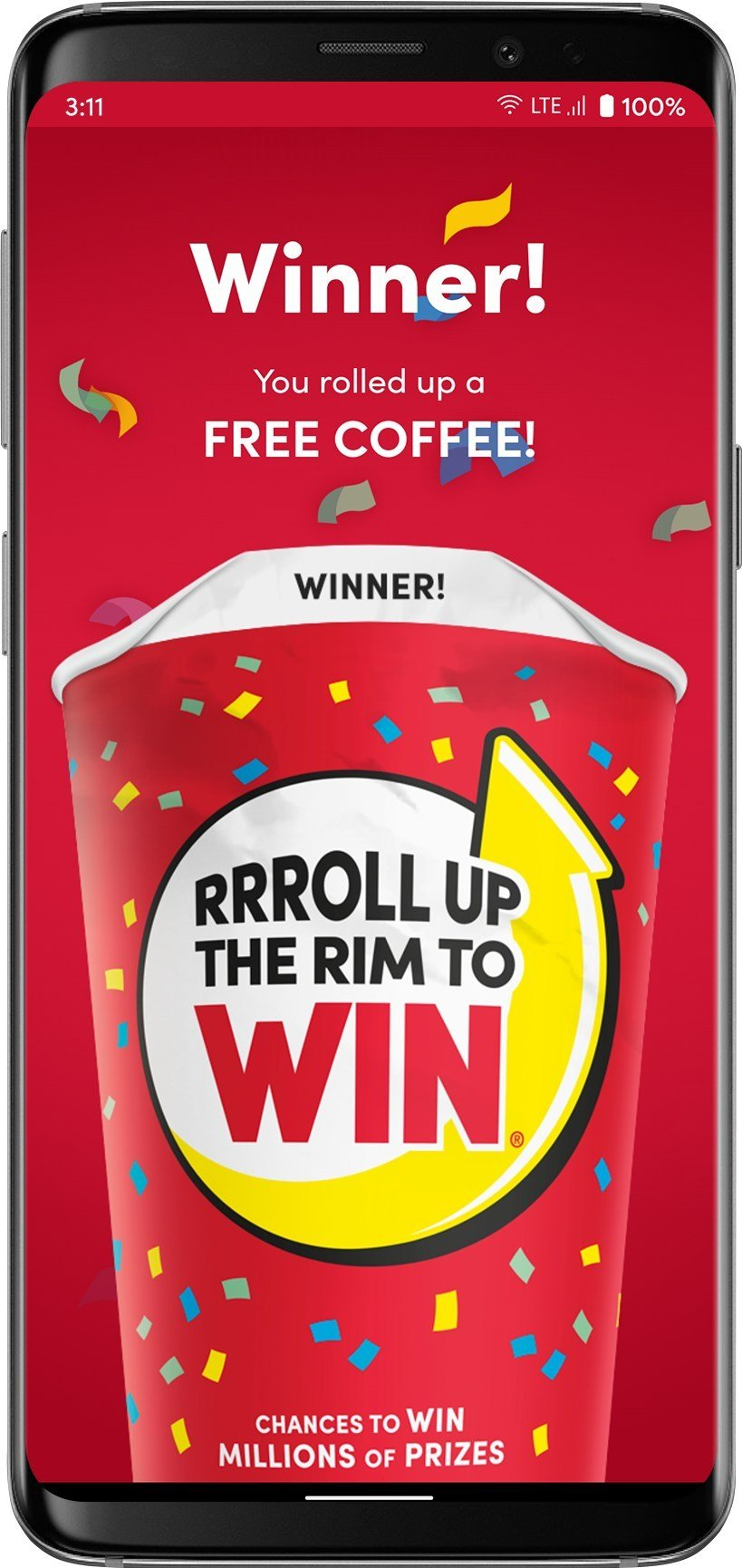 Play Tim Hortons' Roll Up The Rim Contest Digitally and at the Restaurants