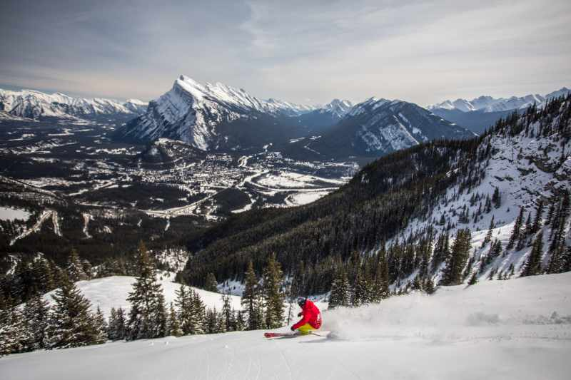 Mt Norquay Ski Resort Banff