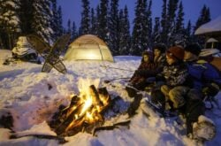 Winter in Saskatchewan Provincial Parks